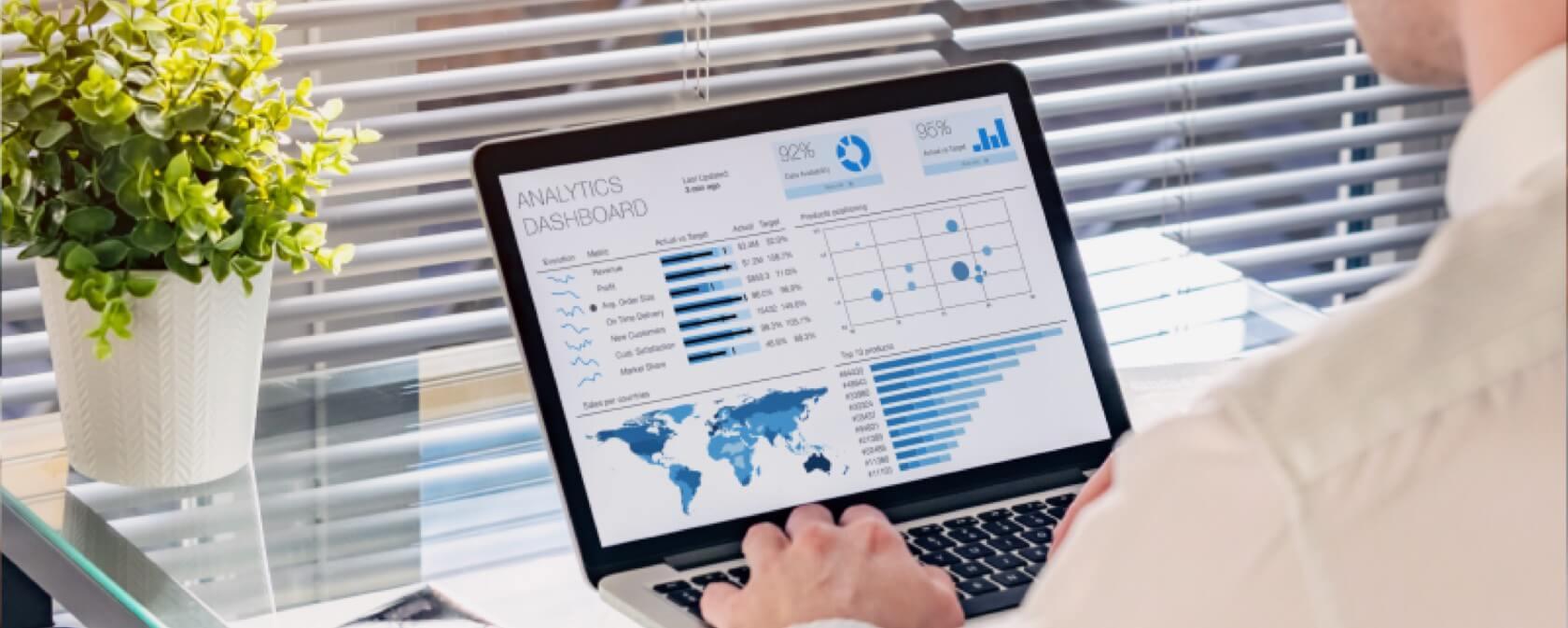 Enterprise management dashboard pc